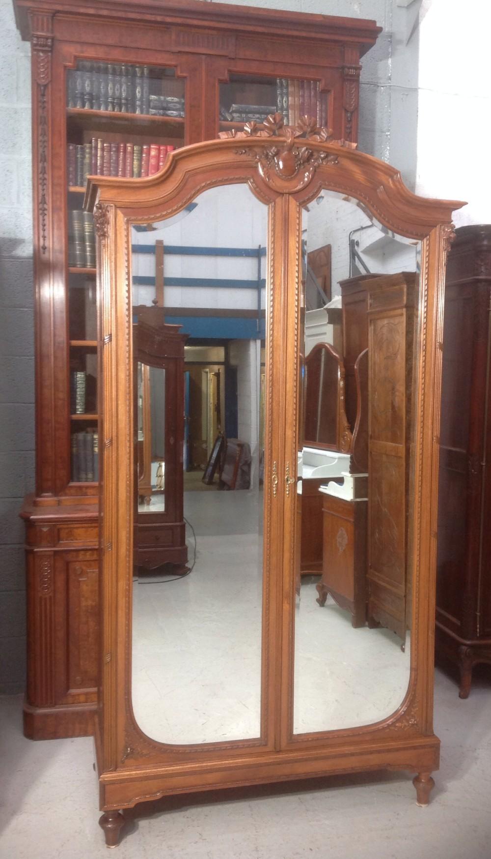 french mahogany armoire paris maker