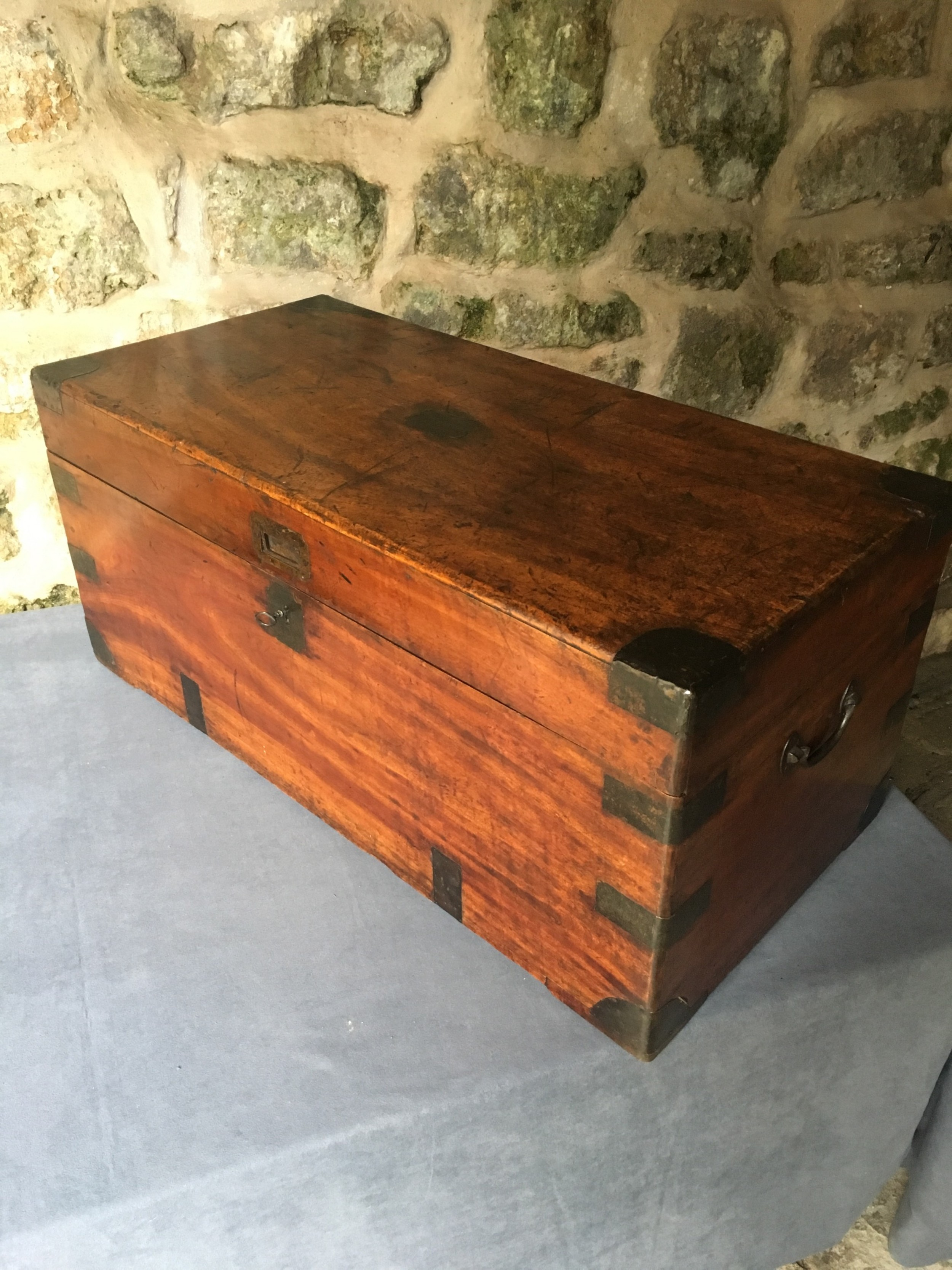 blanket chest or trunk in camphorwood
