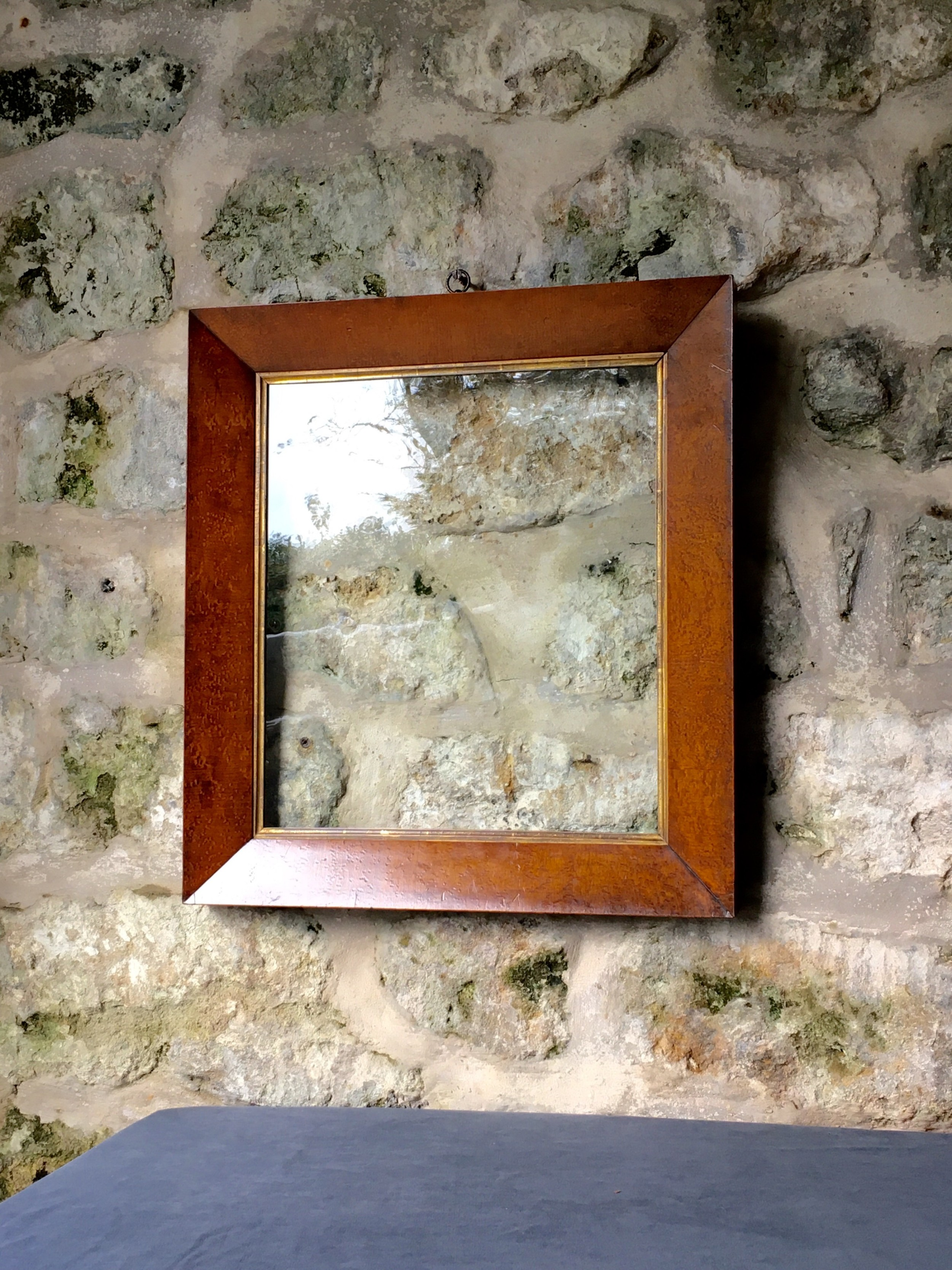 a beautiful maple picture frame