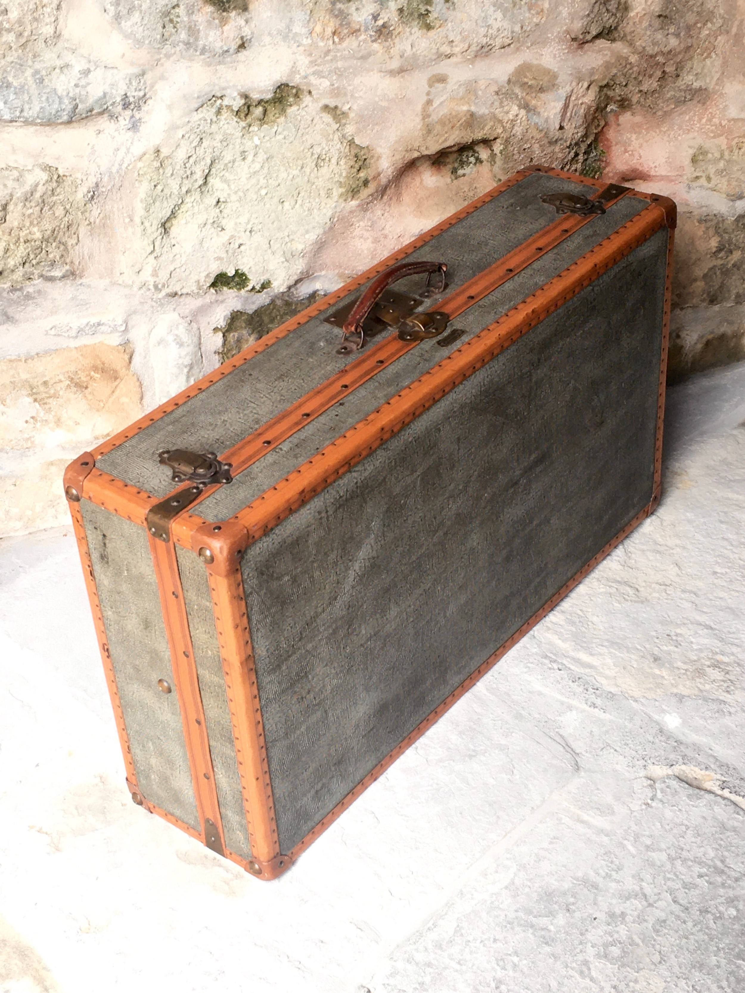 superb french suitcase