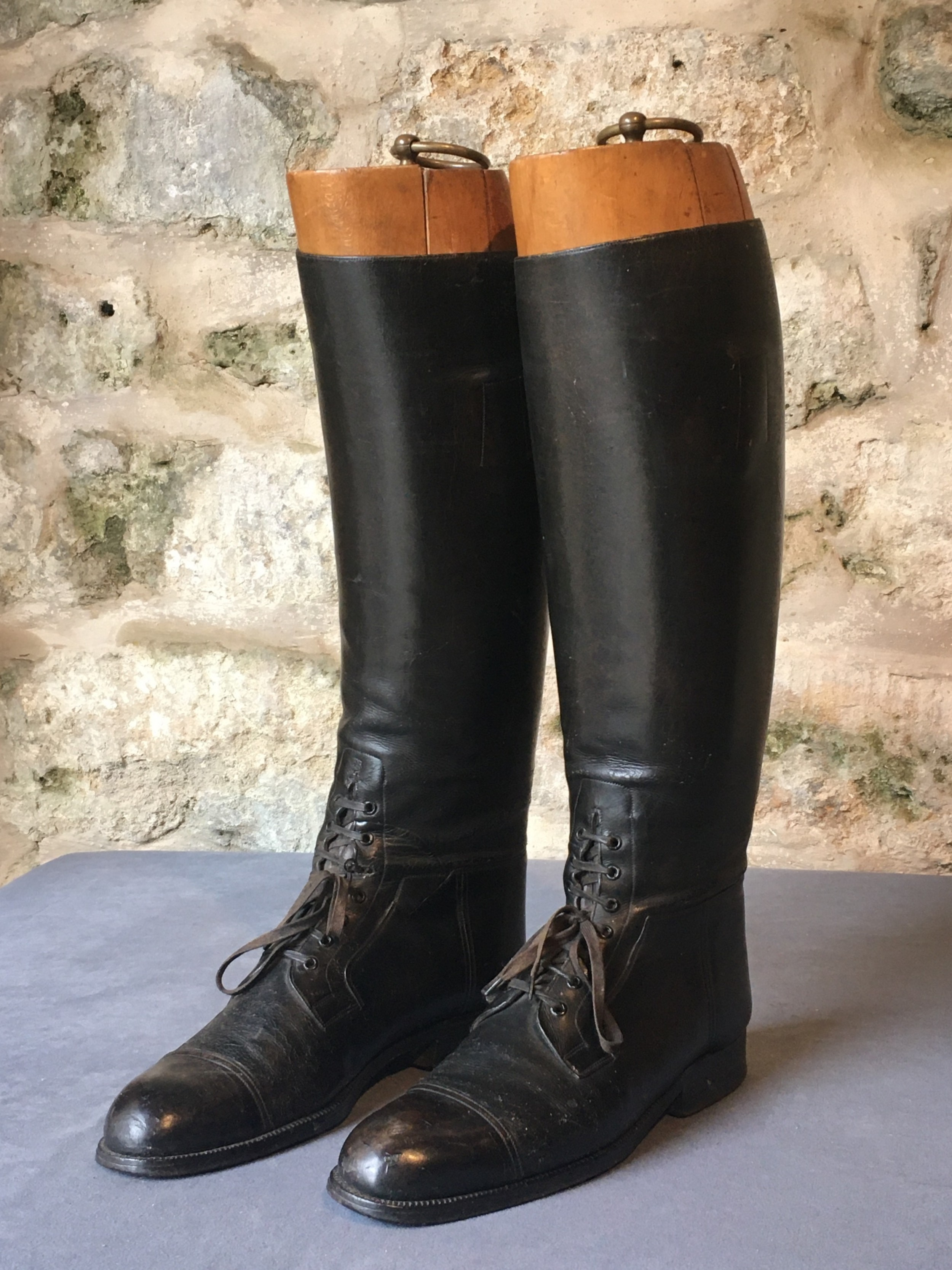 early 20th century riding boots