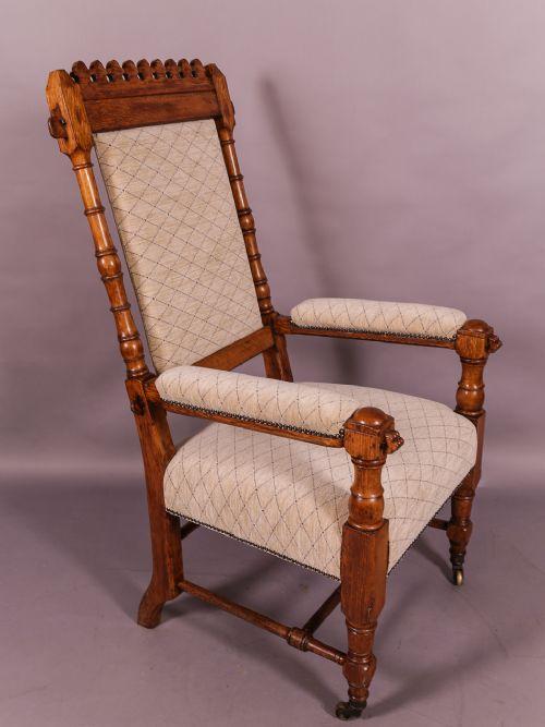 gillows armchair gothic