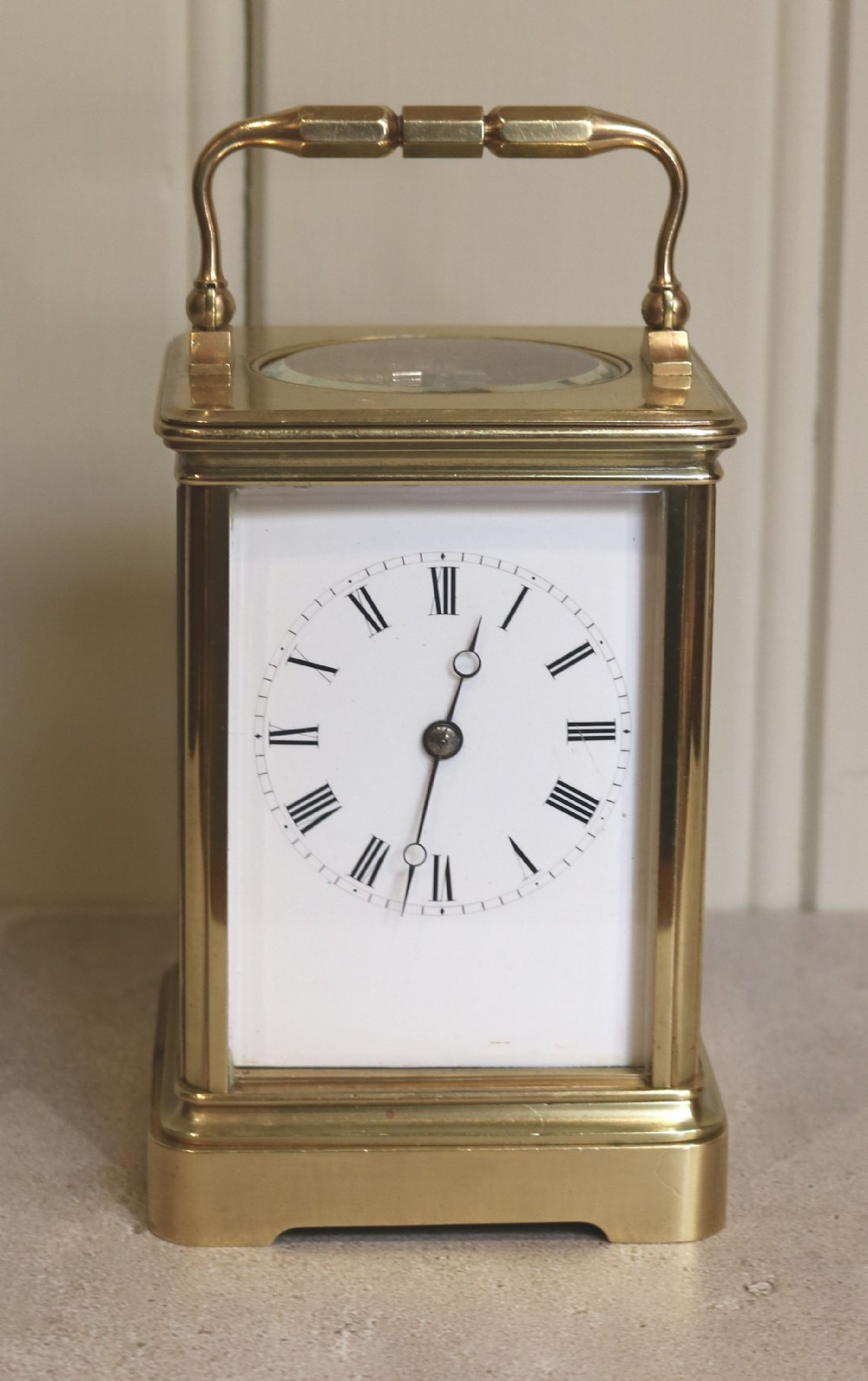 large drocourt carriage clock in case france 1878