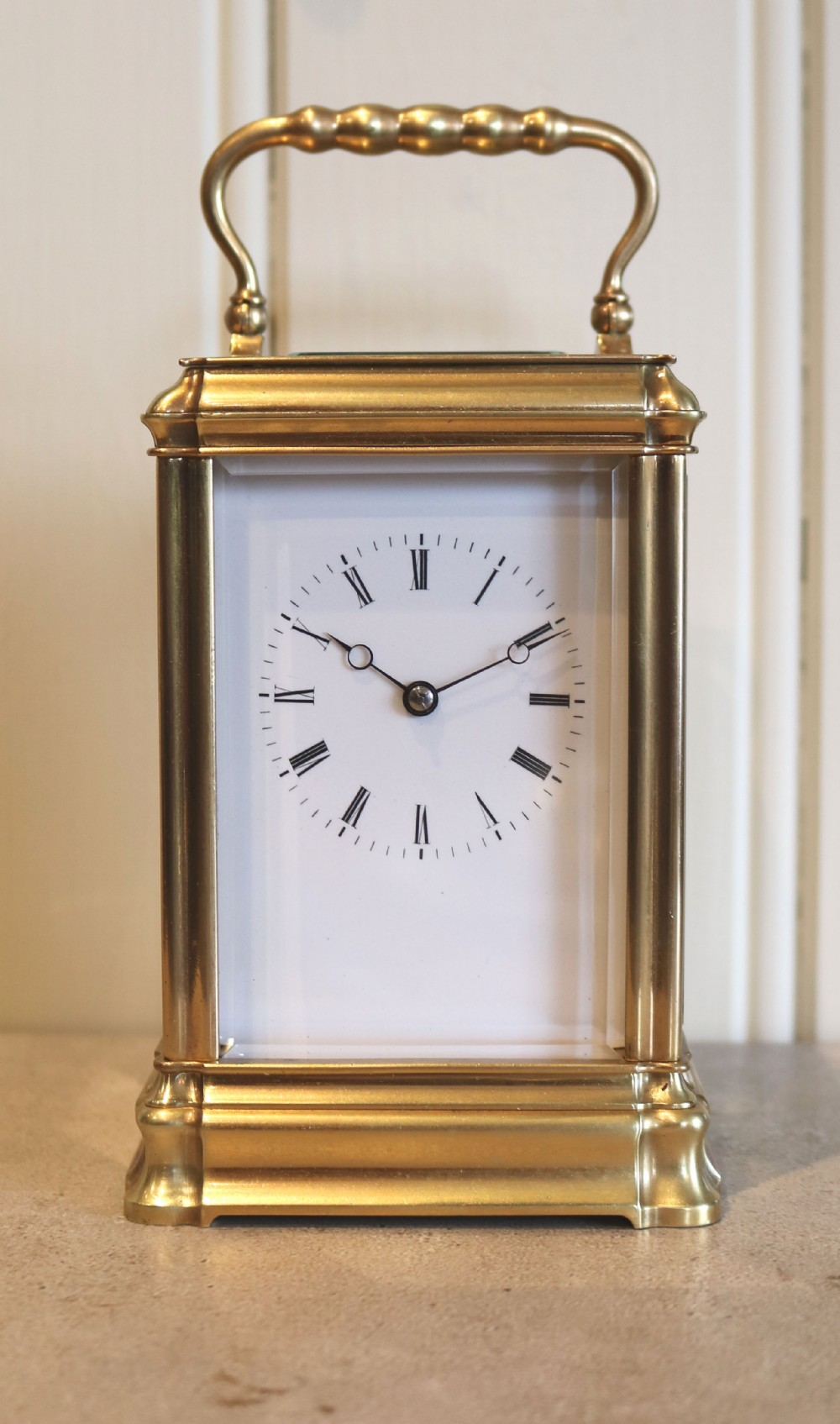 bell striking gorge case carriage clock france c 1880