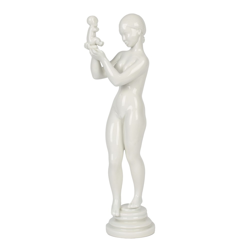 kai nielsen bing grondhal porcelain mother child figure