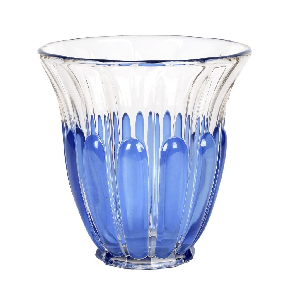 charles graffart val st lambeth art deco luxval helvete glass vase