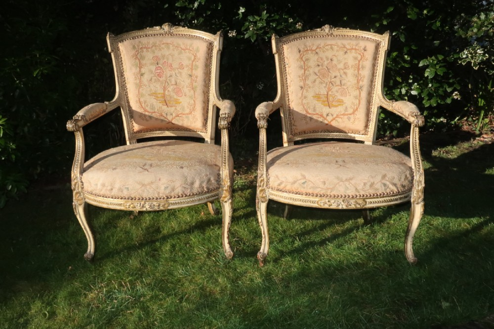 Pair Of French, Period Armchairs | 686302 ...