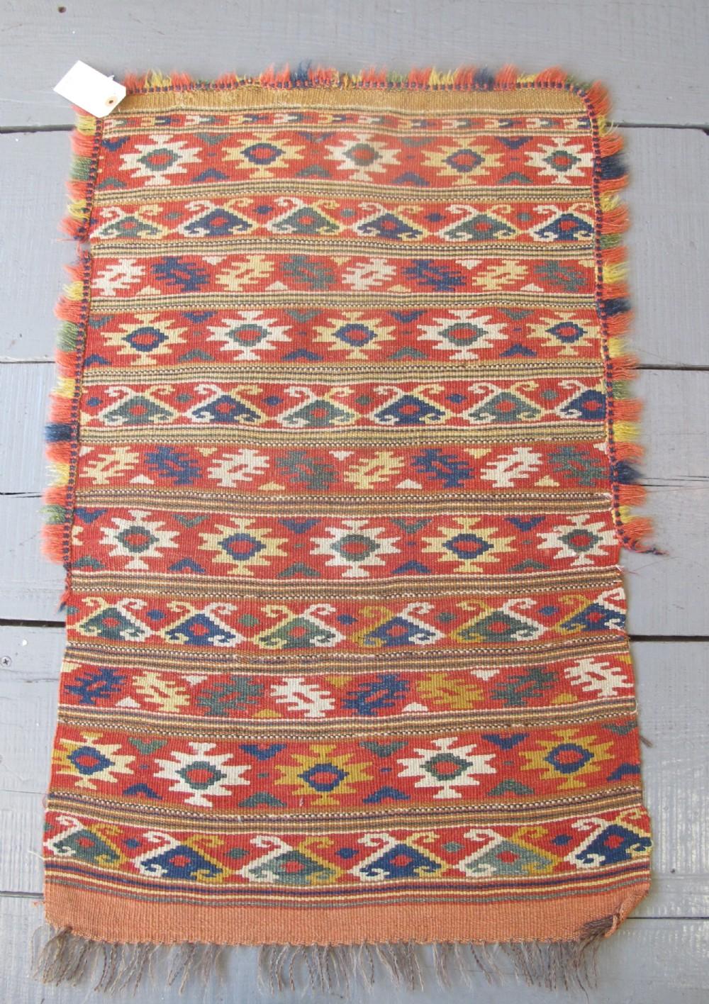 kilim cushion cover sweden 19th century