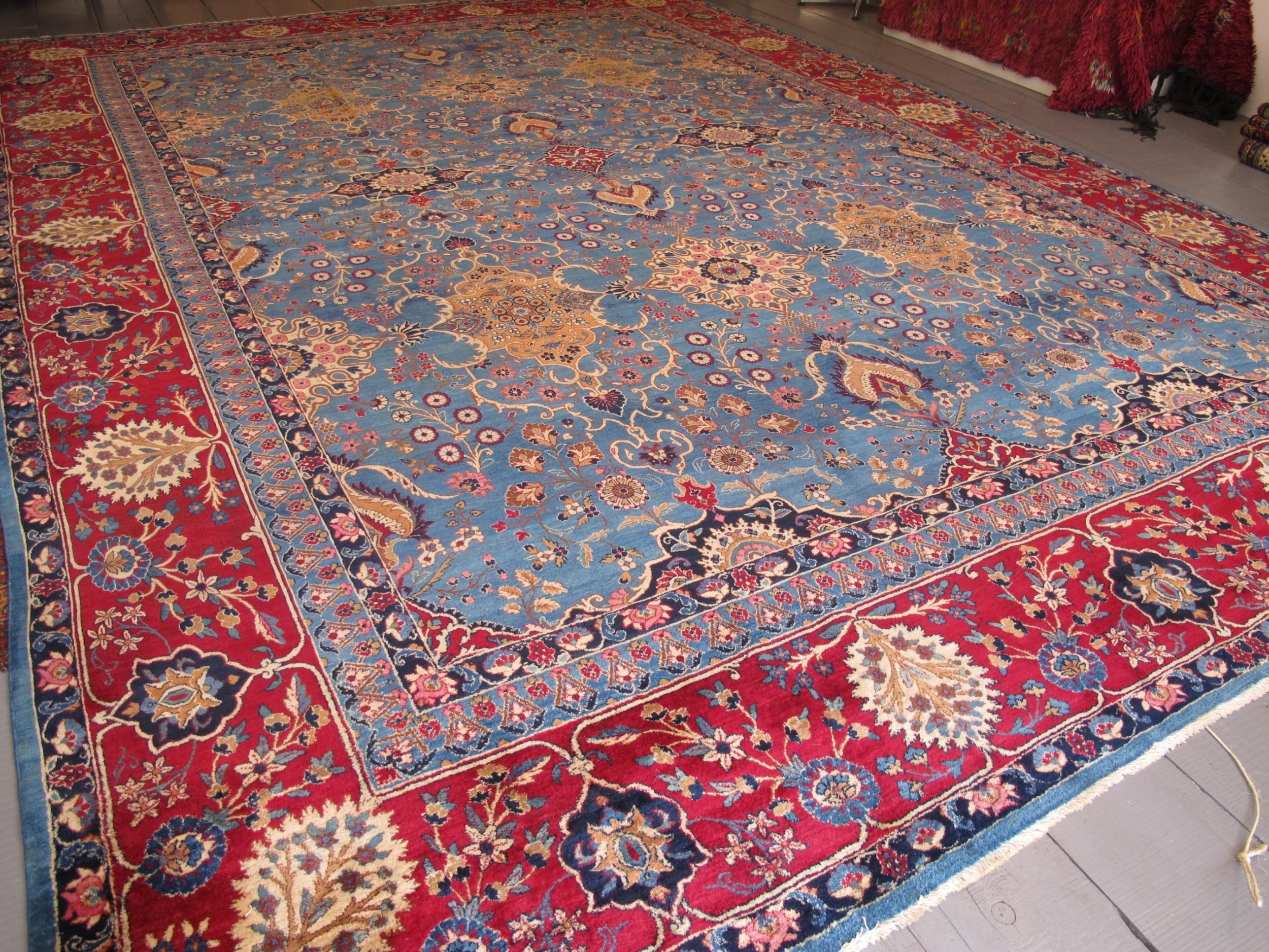 fine kirman carpet 495m x 342m