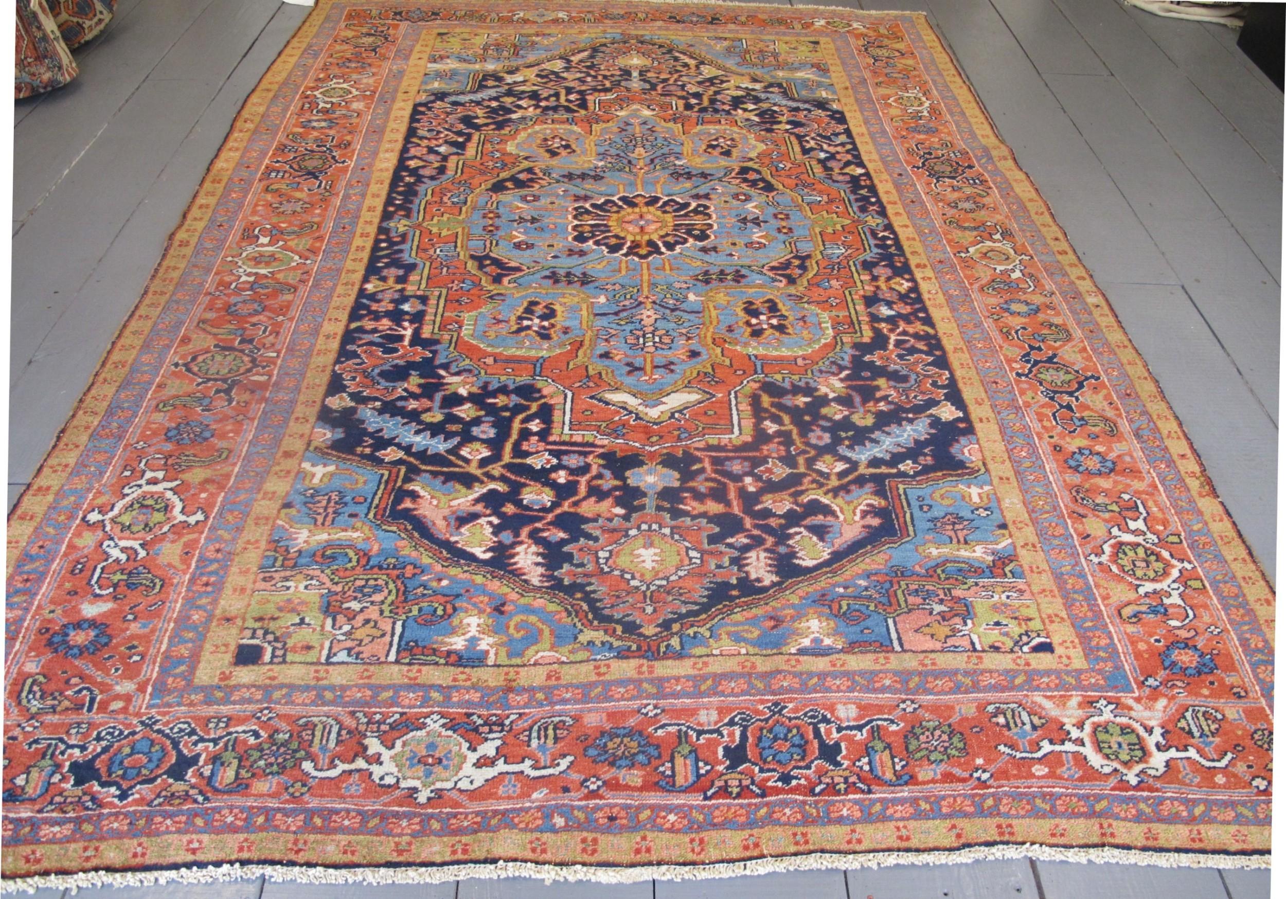 heriz carpet circa 1890 320m x 214m