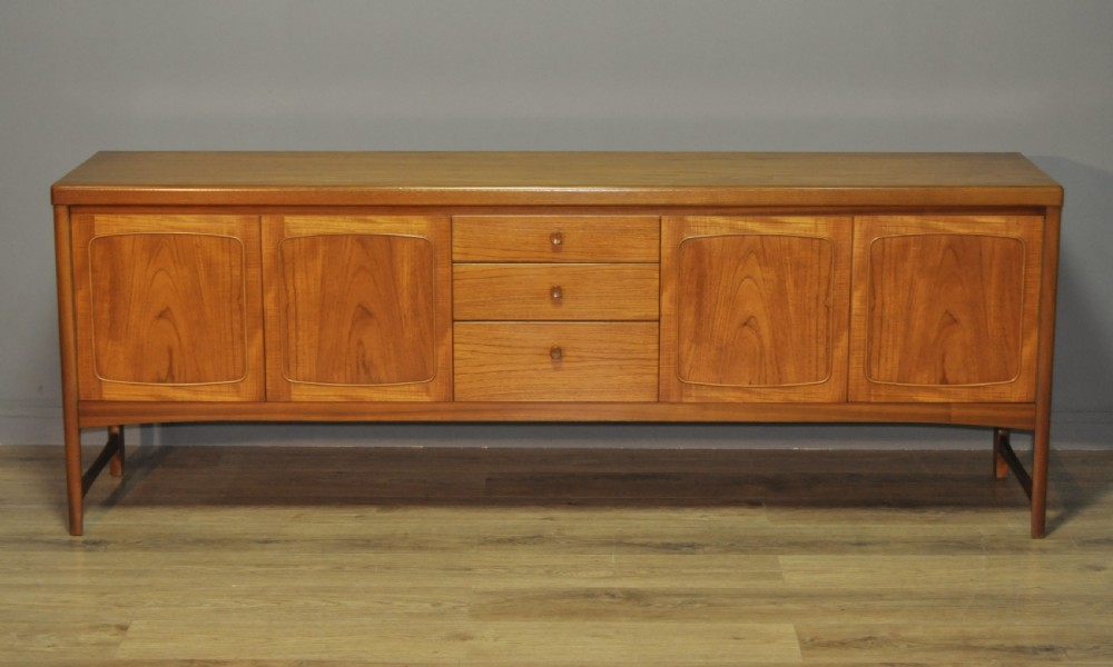 lovely very large retro 1970's teak long john sideboard cabinet credenza