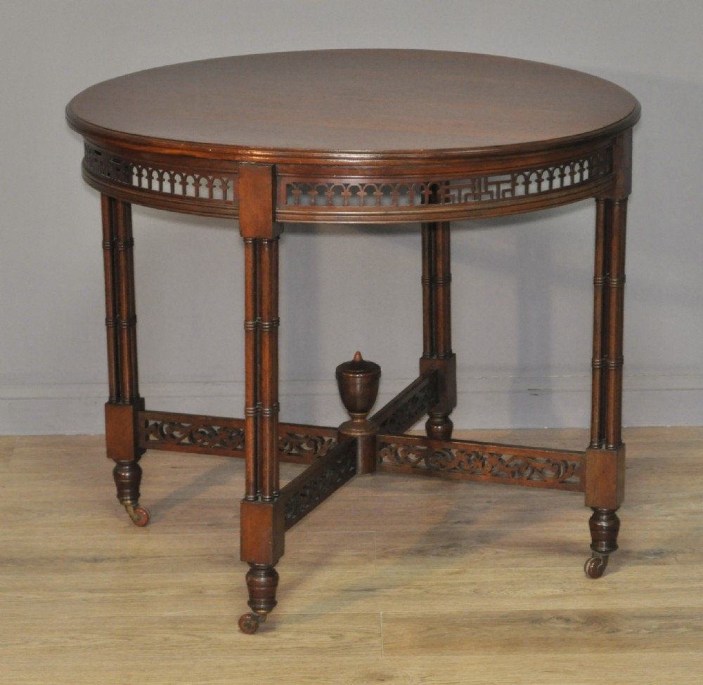 antique edwardian chippendale style mahogany occasional side window table