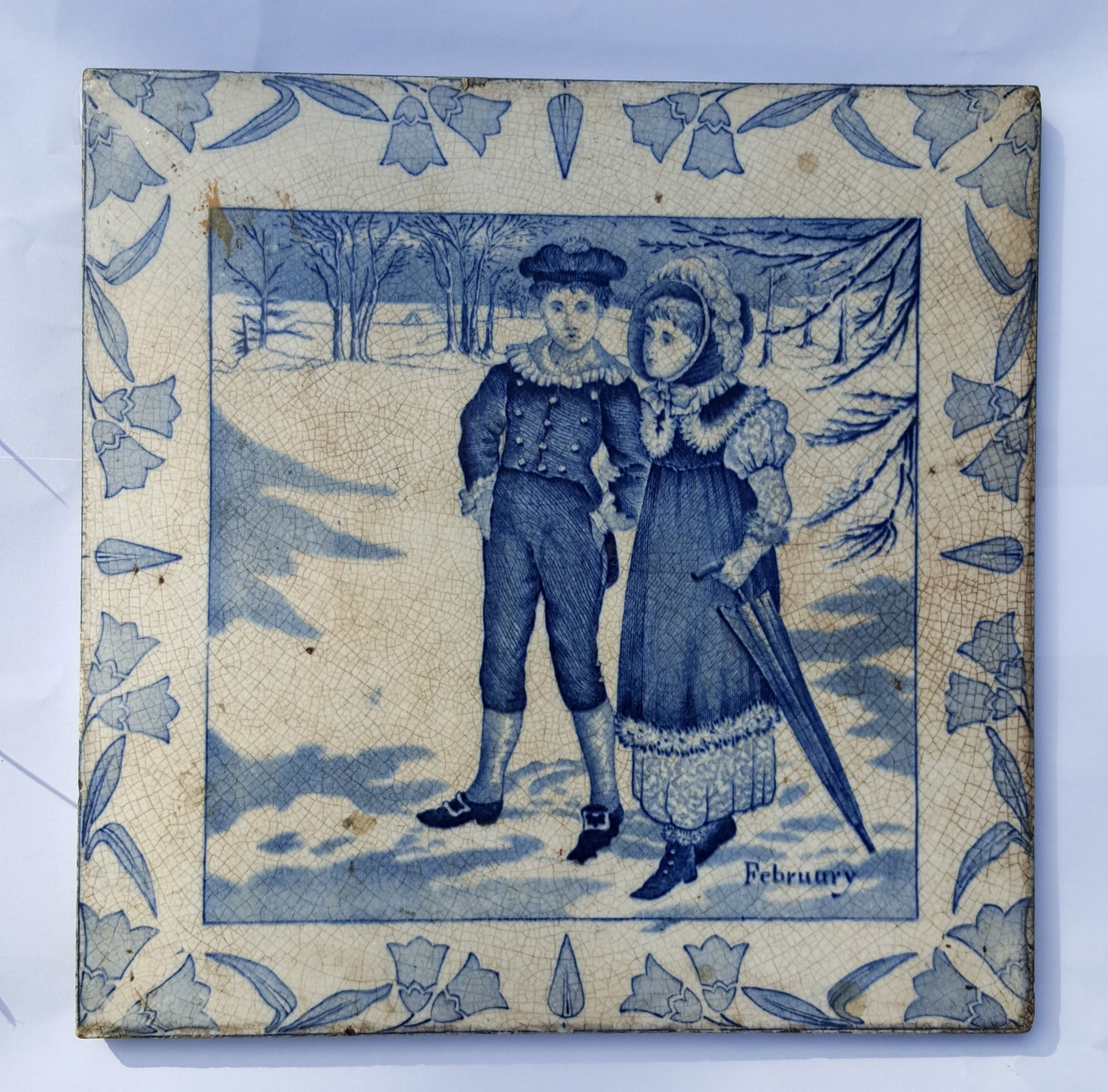 victorian wedgwood sons tile february
