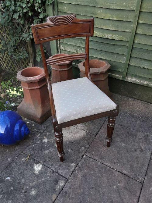 william 1v mahogany chair c 1835