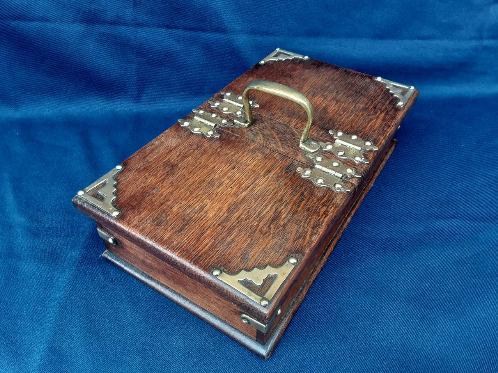 edwardian cigar box