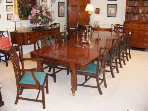 Regency Mahogany Extending Dining Room Table Attributed To  : dealerabrookesfull1373286499469 9353268732 from www.sellingantiques.co.uk size 500 x 375 jpeg 38kB