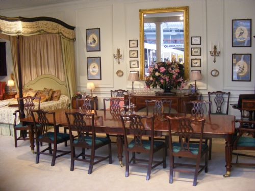 Regency Mahogany Extending Dining Room Table Attributed To  : dealerabrookesfull1373286575941 7724544747 from www.sellingantiques.co.uk size 500 x 375 jpeg 39kB