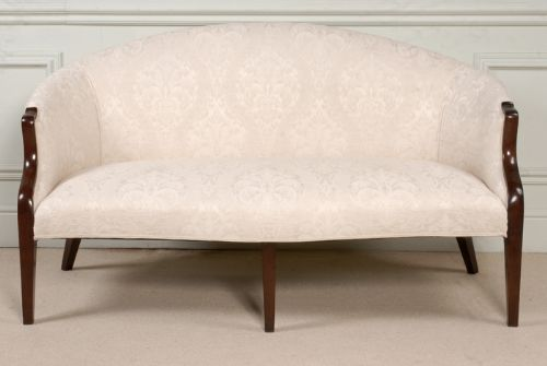 18th century george iii mahogany hepplewhite sofa