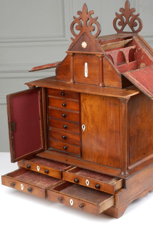 rare and unusual apothecary cabinet