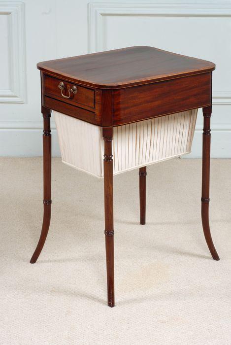 regency sewing table c1800