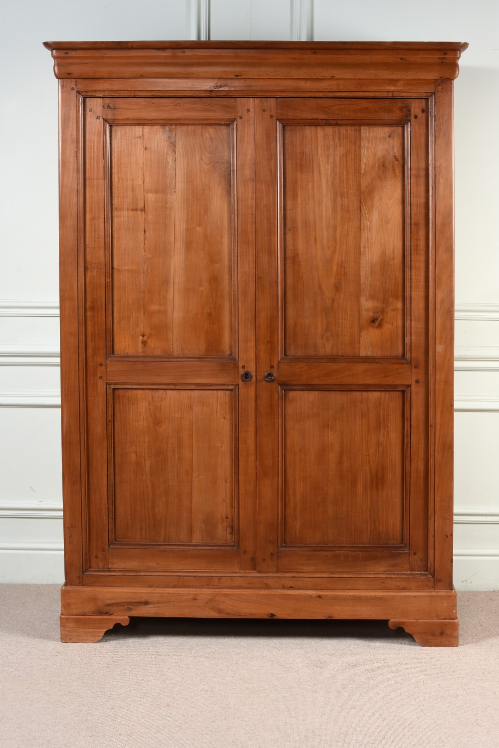 a very good french cherry armoire