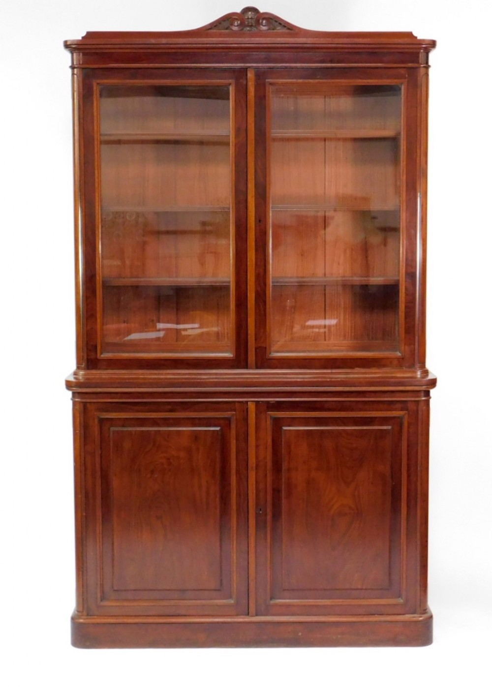 superb large late regency gillows bookcase