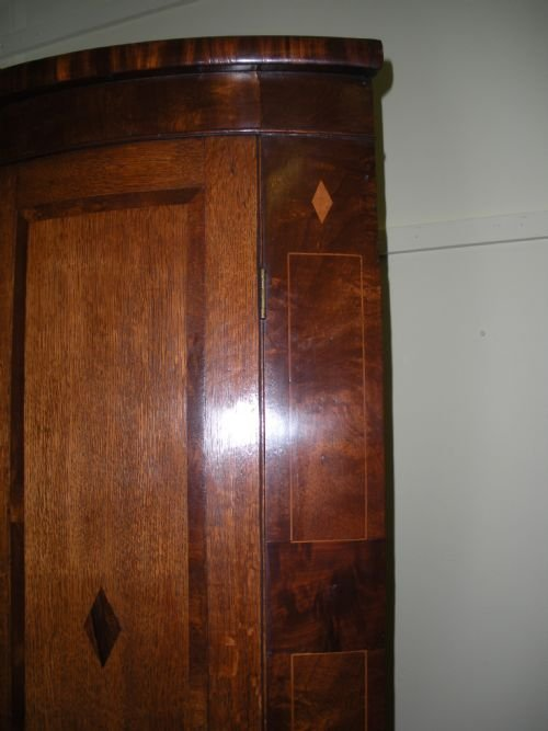 george iii wall corner cupboard - photo angle #2