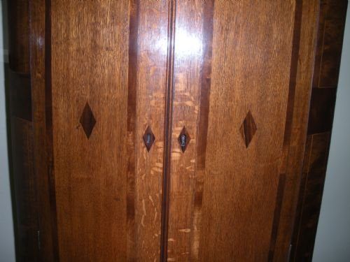 george iii wall corner cupboard - photo angle #4