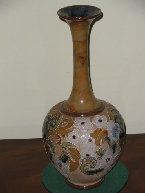 Royal Doulton Stoneware Balustered Spill Vase 117760
