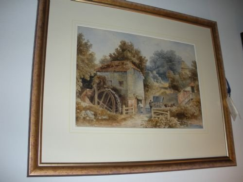 original water colour by thomas james soper