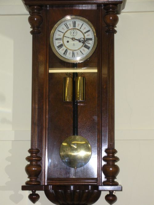 19th Century Gustav Becker Vienna Wall Clock 194356