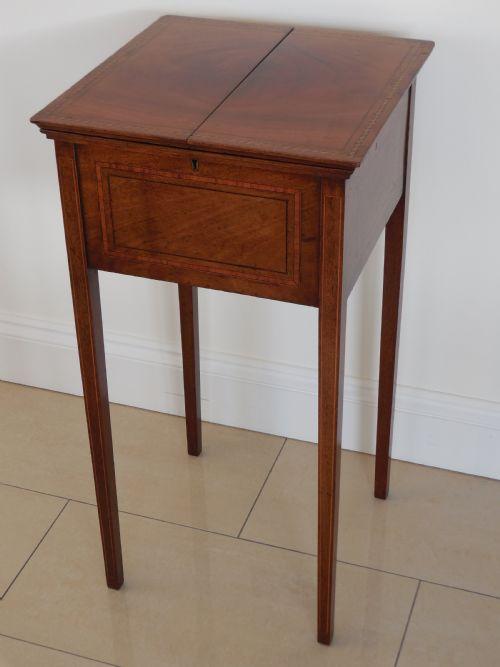 antique sewing tables the uk 39 s largest antiques website. Black Bedroom Furniture Sets. Home Design Ideas