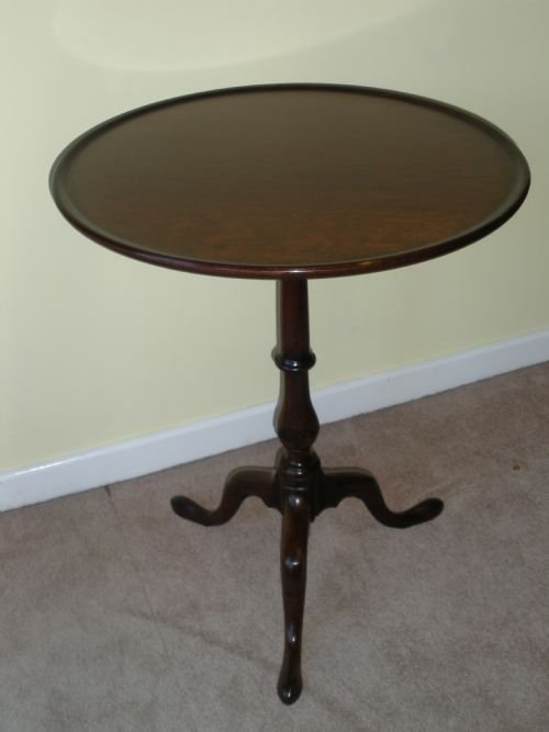 georgian mahogany lamp table