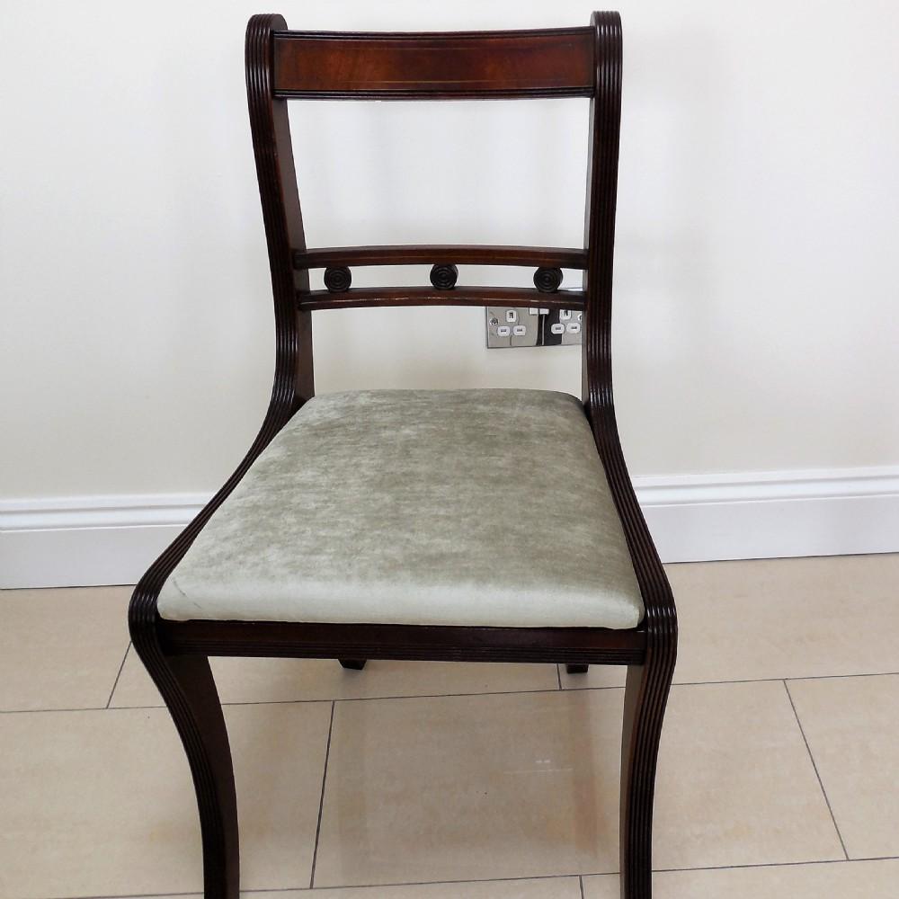 set of 14 mahogany bar back dining chairs