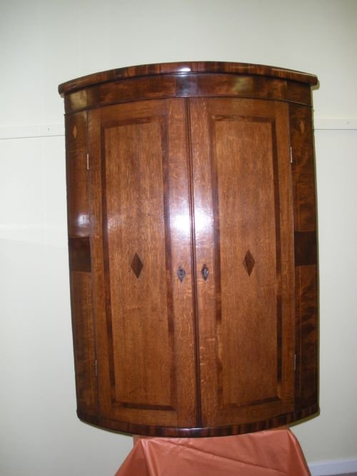 george iii wall corner cupboard