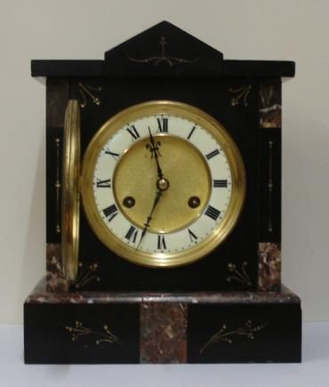 german jungans 8 day gong strike mantel clock