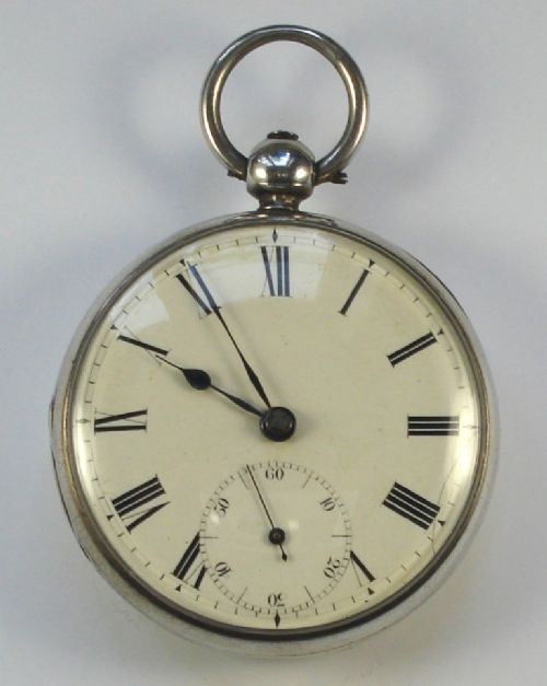 silver fusee pocket watch by jtcremer