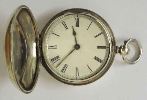 silver fusee pocket watch by wfowle of uckfield