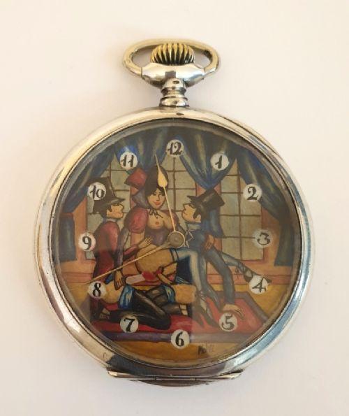 swiss silver cased pocket watch by doxa