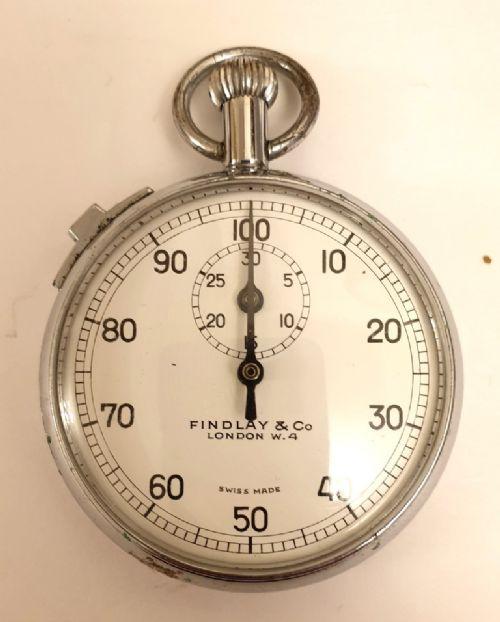 swiss 30 minute recording pocket stop watch