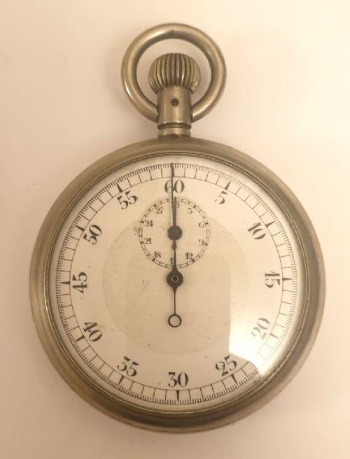 swiss wwi 30 minute recording pocket stop watch