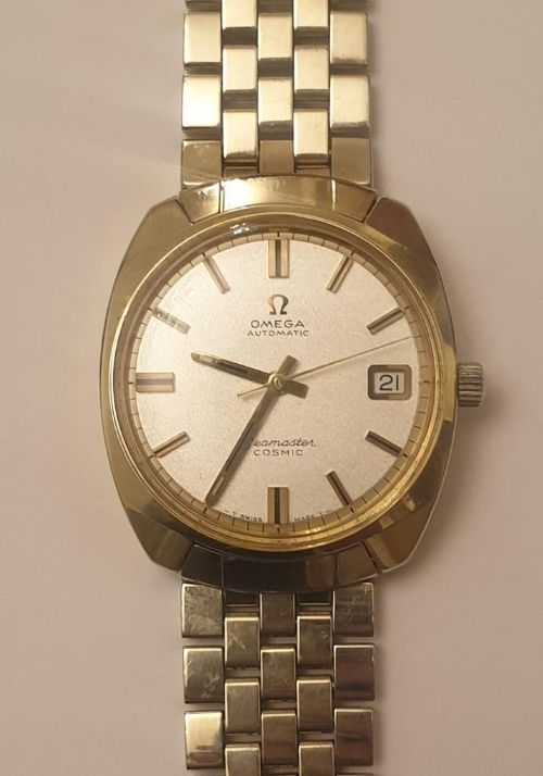 omega seamaster cosmic automatic wrist watch