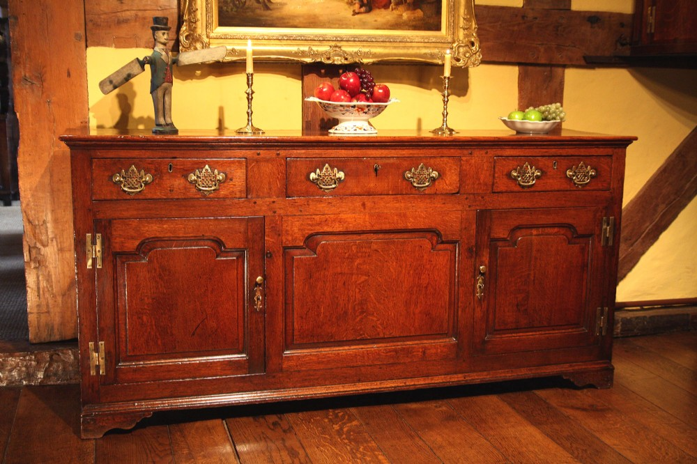 georgian oak dresser base sideboard