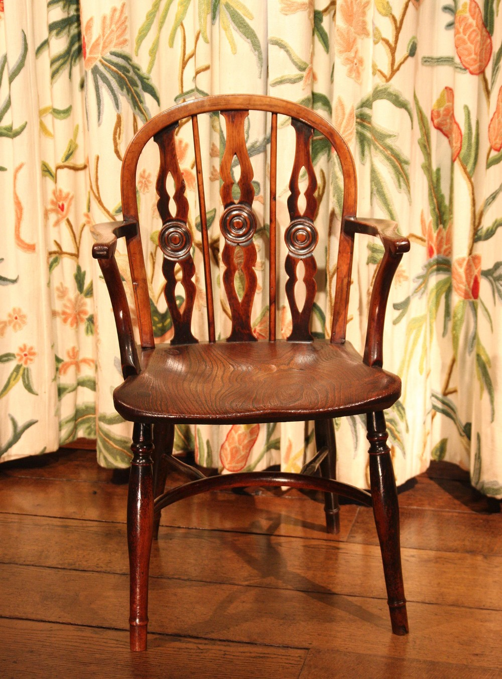 early 19th century prior windsor kitchen dining chair