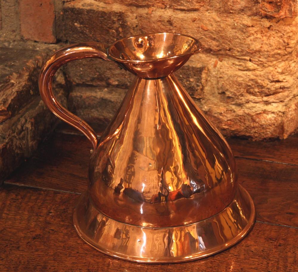victorian copper measure