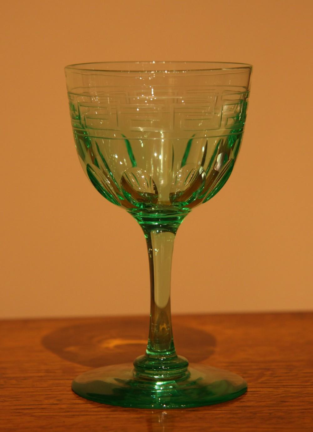 green uranium glass