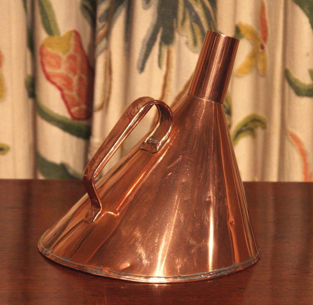 unusual victorian copper jug