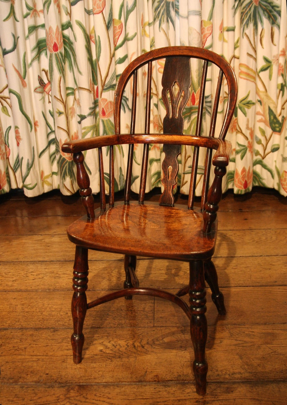 childs windsor chair early 19th century