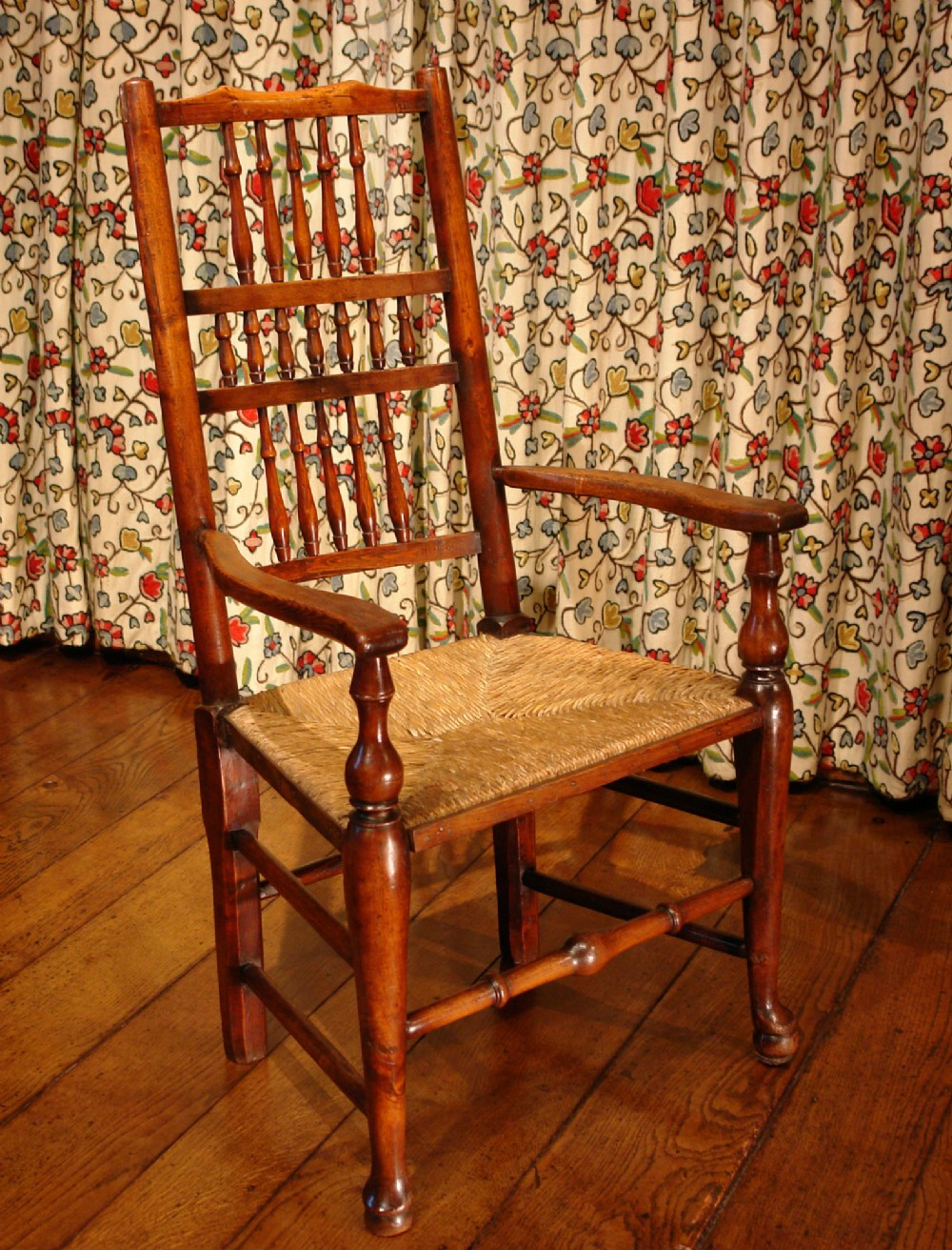 victorian spindleback country dining chair