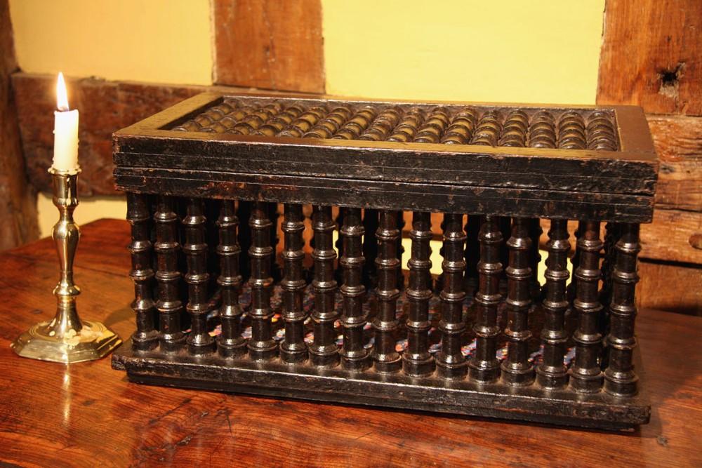 regency work box sewing box